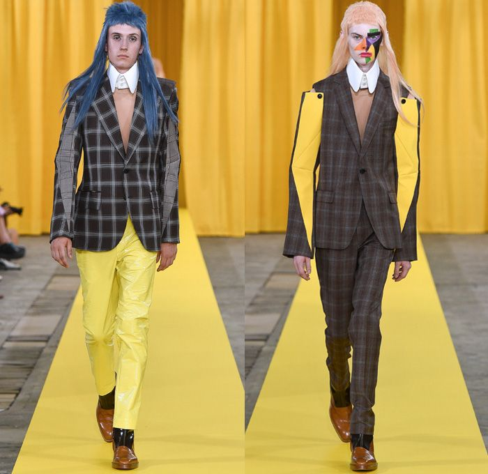 6687cdbb19c Walter Van Beirendonck 2018 Spring Summer Mens Runway Catwalk Looks - Mode  à Paris Fashion Week