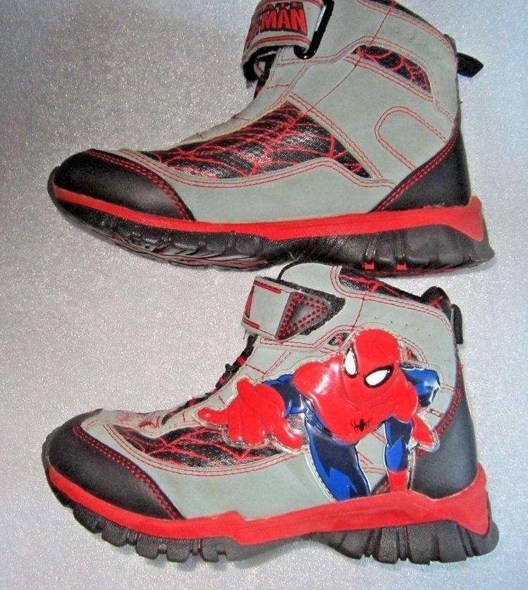 6fc0e86f072 Marvel SPIDER-MAN Hi-Tops Sneakers Boys Sz 12  fashion  clothing  shoes   accessories  kidsclothingshoesaccs  boysshoes (ebay link)