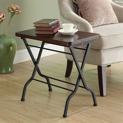 Monarch Specialties End Table I 3309 Folding Accent Table