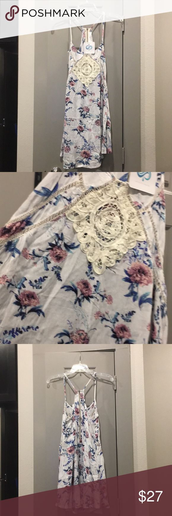 432ce663301c Infinity Raine Floral dress, size small NWT, reposh because it's a little  too big on me. Excellent quality, does not come with a liner.