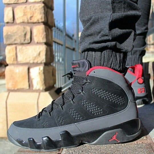 "Nike Air Jordan 9 Retro ""Charcoal"""