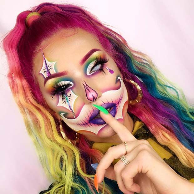 43 Trendy Clown Makeup Ideas for Halloween 2019 | Page 4 of 4 | StayGlam