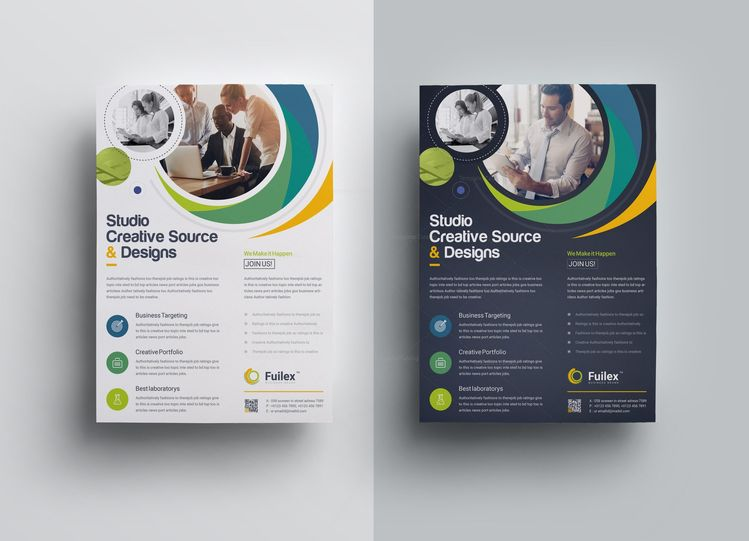 Hypnosis Creative Business Flyer Design Template - Graphic Templates
