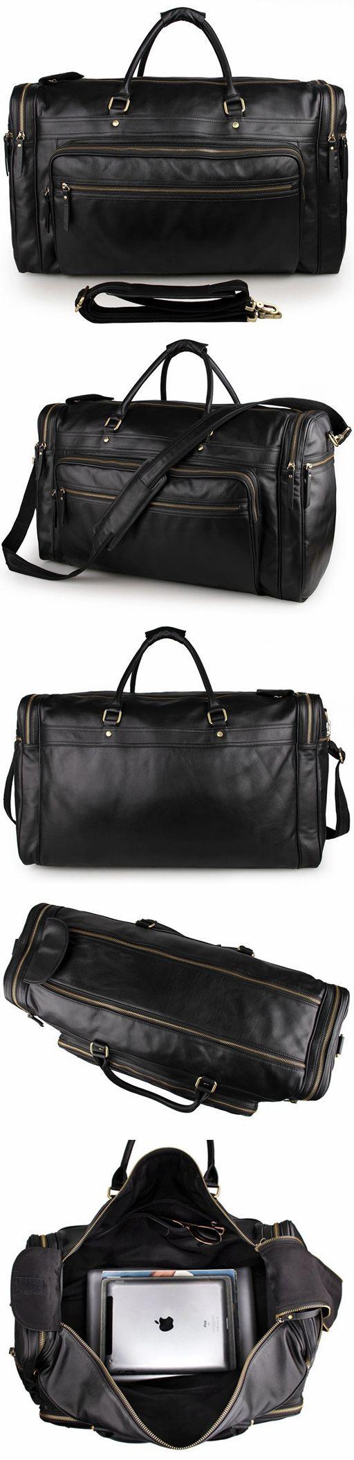 Handmade Full Grain Leather Mens Duffle Bag Chloe Handbags Handbag Brands  7317 cd2cac067e53f