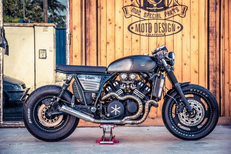 Yamaha VMax 1200 Street Racer by Moto Design Customs