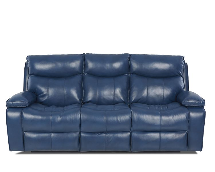 Campania Top Grain Leather Power Reclining Sofa With
