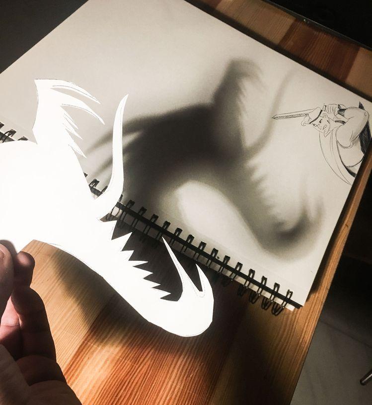 "🌪Luigi kemo Volo🌪 on Instagram: ""🗡⚡️Hercules VS Hydra⚡️🐍 . . . . #disney  #disneyarts #paper #pen #pencil ##instaartist #graphic #illustrations #artwork #freak #project…"""