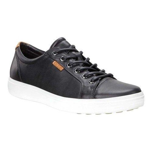 Men's ECCO Soft 7 Sneaker Leder/Nubuck schwarz Leder/Nubuck Sneaker Sneakers 8bbad8