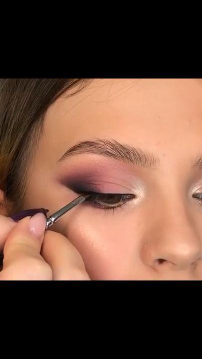 Belas habilidades de maquiagem