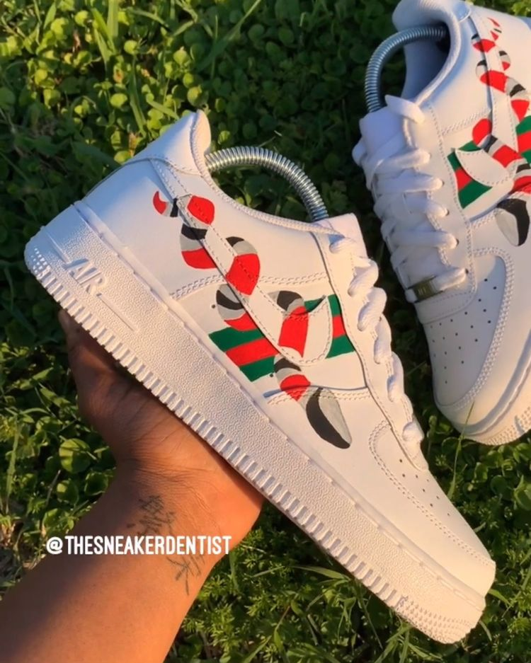 GUCCI SNAKE CUSTOM FORCES 🐍