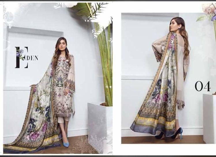 5037cebf3b Buy Pakistani Chiffon Dress by Serene Online - Pakistani Designer Dresses  at Nameera by Farooq