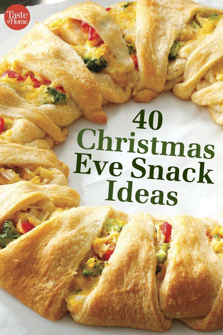 40 Christmas Eve Snack Ideas