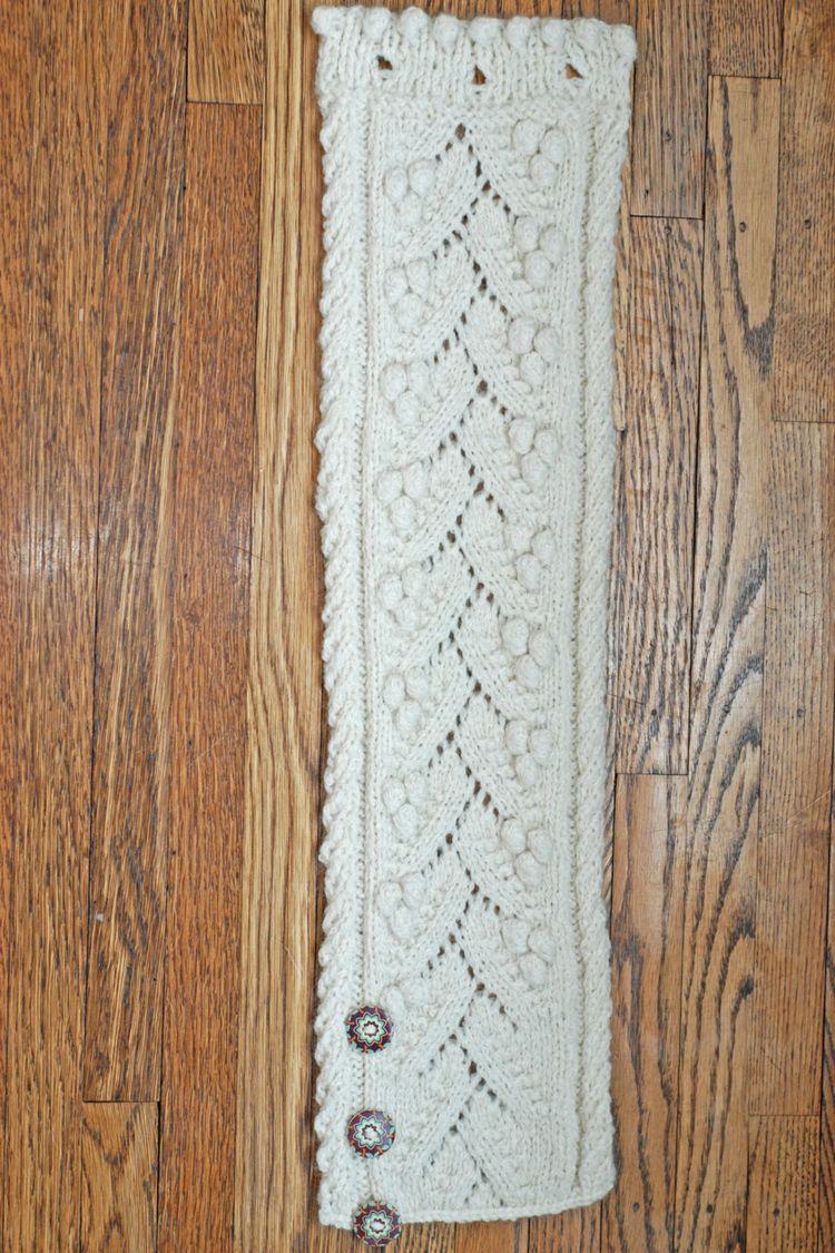 Harriet Button Cowl - Knitting Pattern