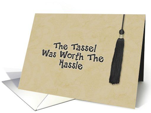 congratulations on college graduation tassle worth the h
