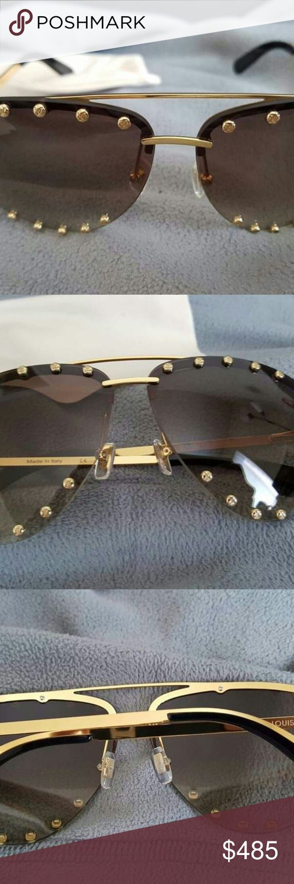 32cb520641d8 Authentic Louis Vuitton The Party Sunglasses Gently used in excellent  condition. 100% Authentic No