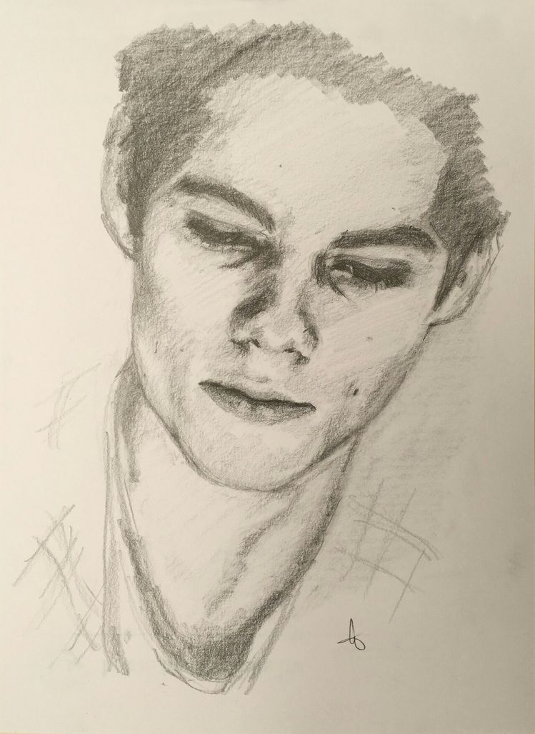 Dylan O'Brien as Stiles Stilinski #TeenWolf #VOID Stiles #N
