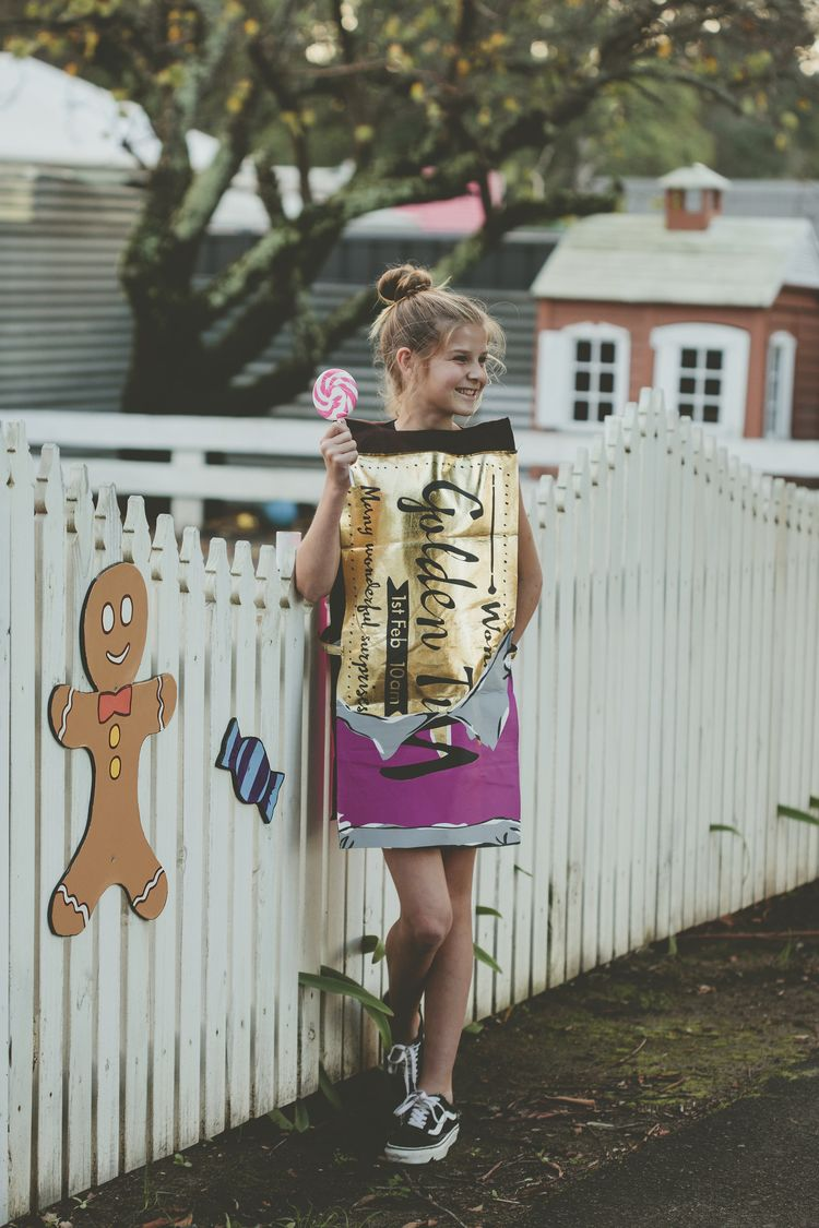 Now Your Child Can Dress As The Iconic Wonka Chocolate Bar