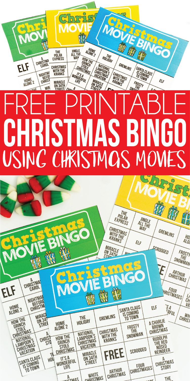 This fun printable Christmas bingo game is perfect for lar