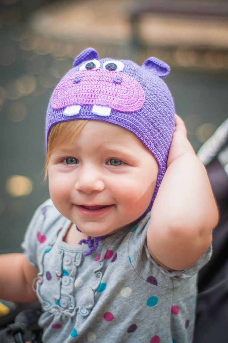 b51221a68d9 Excited to share this item from my  etsy shop  Hippo hat animal hat baby  beanie cute crochet hat photo props baby girl funny toddler hat children  costume ...