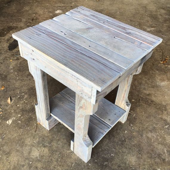 Rustic Night Stand Furniture Nightstand Side By Cecustoms