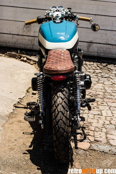 Honda CB750 Cafe Racer #motos #motorcycles   caferacerpasion.com