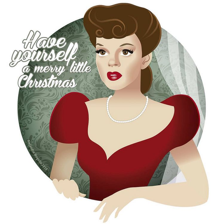 Judy Garland sings Have yourself a merry little Christmas