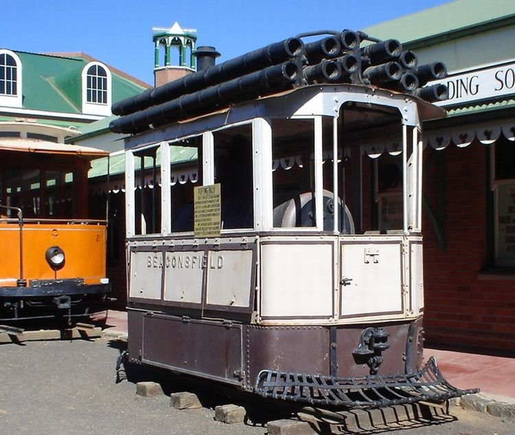 Tramway- or box locomotives - model railway forum for 1: 22