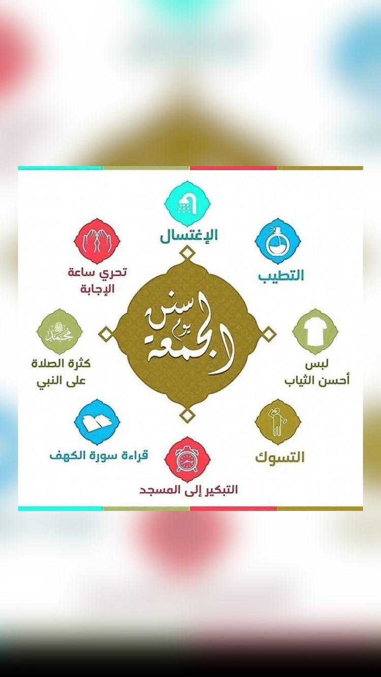 سنن الجمعة An Immersive Guide By اترك اثرا علي المنبهي