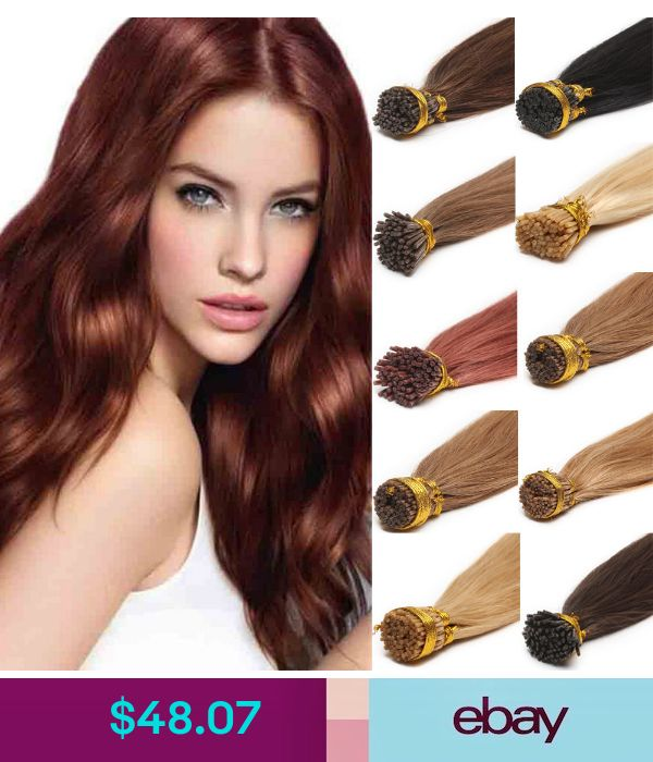 Double Drawn Thick 1gs Human Hair Extensions Pre Bonded K