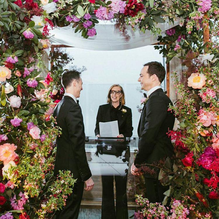 The Big Bang Theory: Jim Parsons revela las fotos de su casamiento [IMÁGENES]   Noticias del Perú   LaRepublica.pe