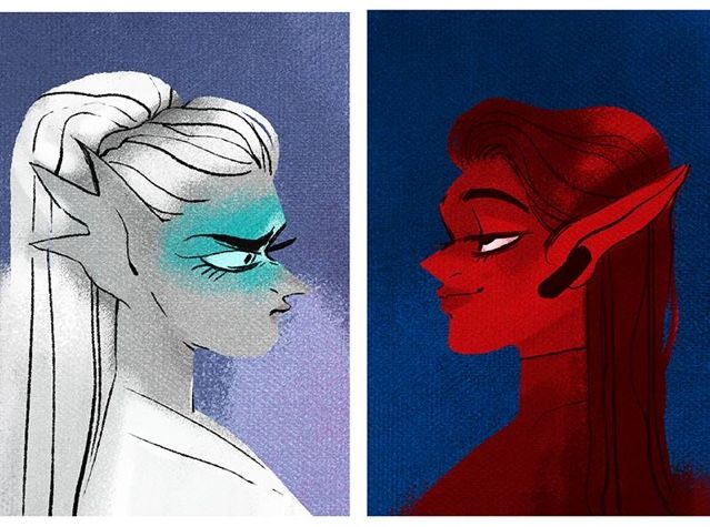Lore Olympus #Minthe #Thetis