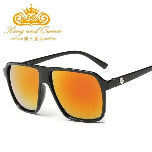 FuzWeb Mens Square Sunglasses Men Women Mirror Eyewear Retro for Women  UV400 gafas oculos de sol masculino 2a88cc64fe