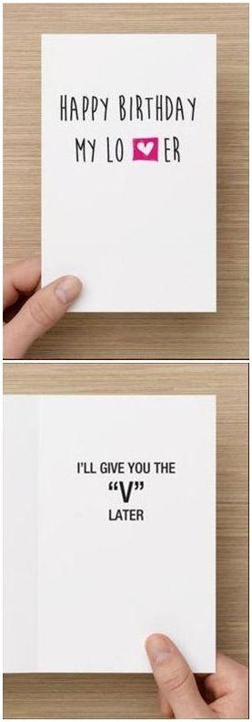 Naughty Birthday Card For Boyfriend Him I Ll By Diamonddon