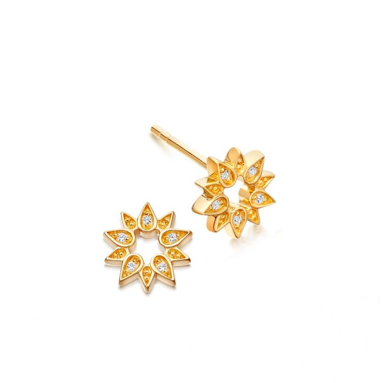 286c65b54 Mini Sun Biography Stud Earrings