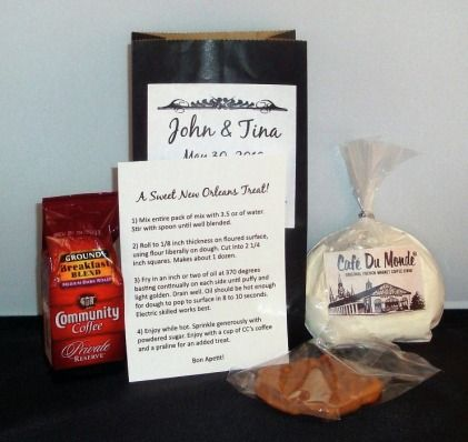 Wedding Favors A Taste Of Louisiana New Orleans Inst