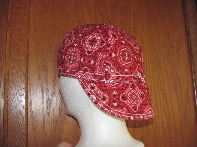 9 name sewing welding cap pattern welders hat