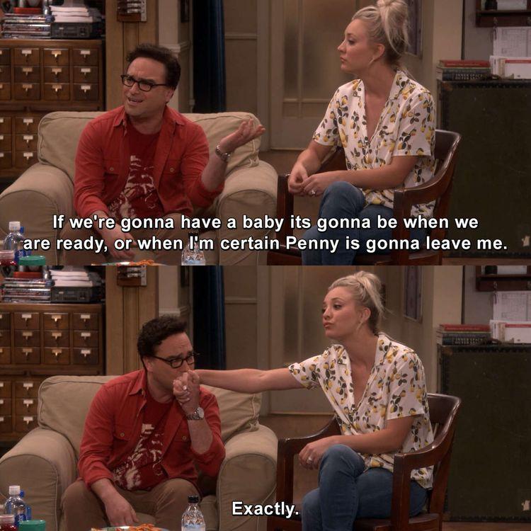 The Big Bang Theory - The Proposal Proposal #LeonardHofstadter #Penny #TheBigBangTheory #TheProposalProposal #tbbt #bigbangtheory #bbt #joke #memesdaily