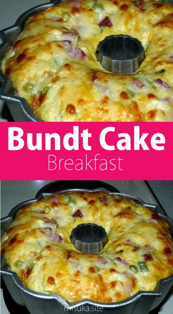 Bundt Cake breakfast