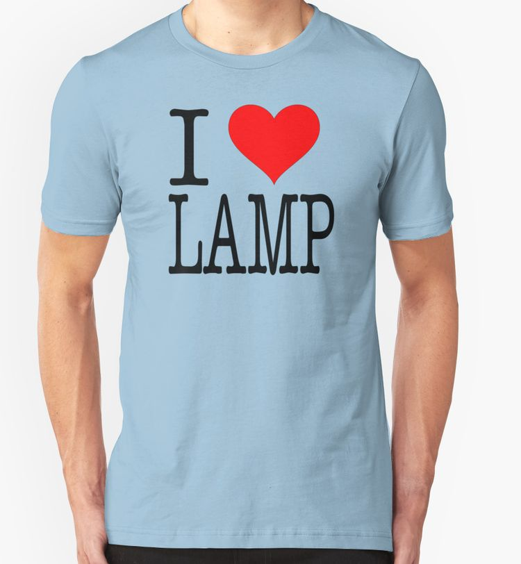 I Love Lamp - Anchorman | Unisex T-Shirt