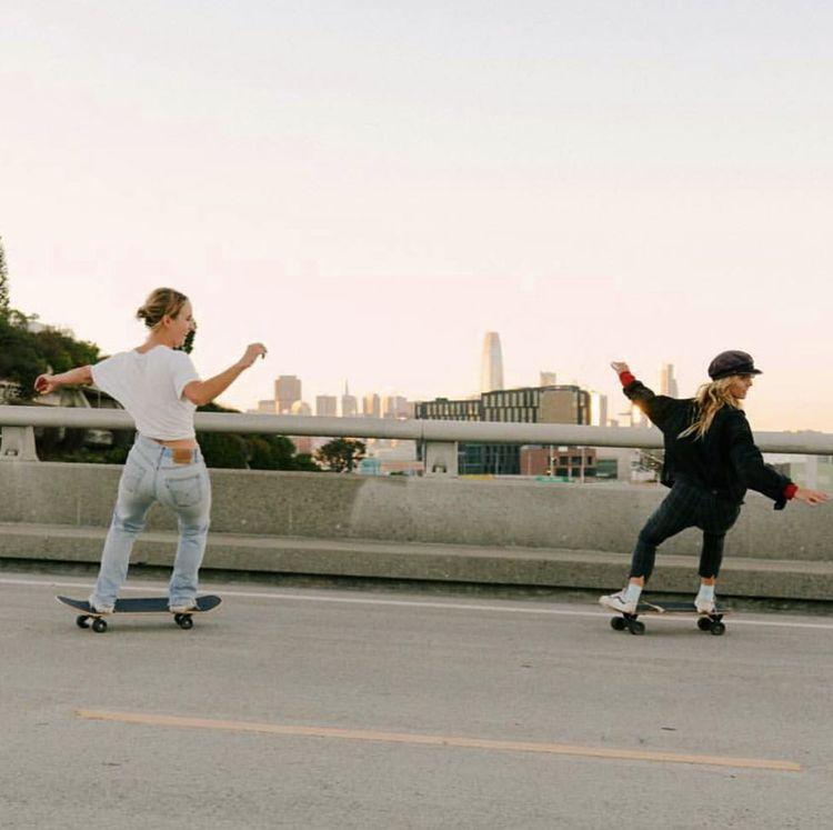 GRLSWIRL in SF -   - #BurtonSnowboards #grlswirl #Longboards #SkateboardArt #SkateboardGirl #Snowboarding #SnowboardingGirl #Surfing