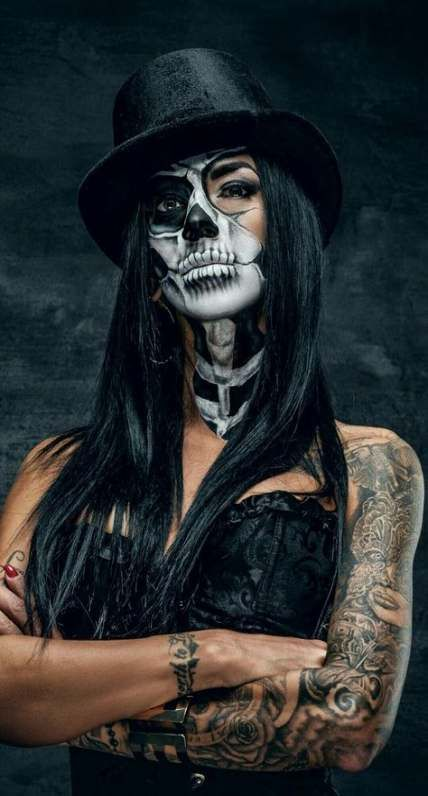 27+ Trendy makeup halloween catrina mexico