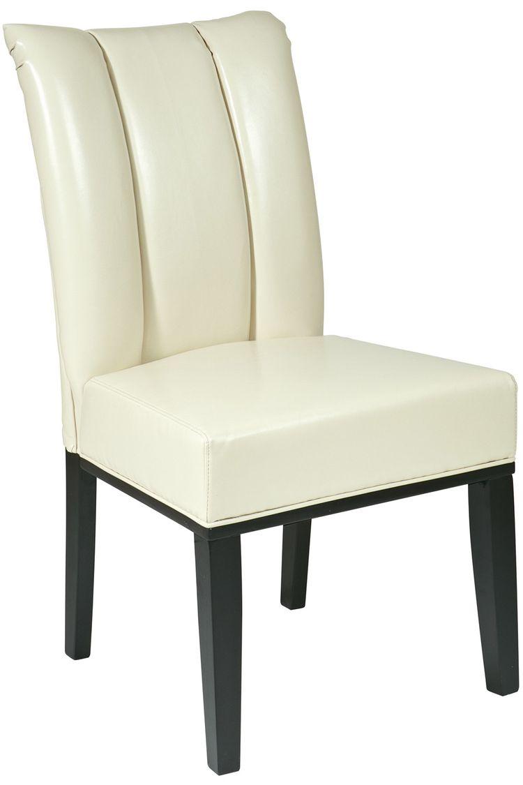 Leder Parsons Stühle Esszimmerstühle