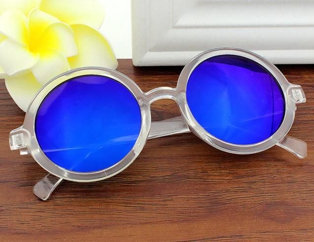 36d6fdfccec Yooske Vintage Round Sunglasses Women Classic Retro Coating Sun Glasses  Female Male Sun Glasses
