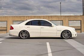 Mercedes-Benz W211 E55 AMG on R19 Sport Edition ST6 Wheels