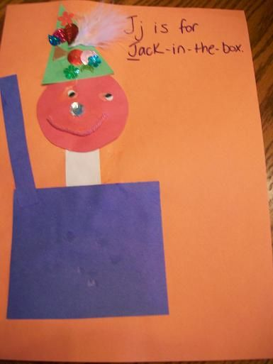 J IS FOR JACK IN THE BOX Our Crafts N Things