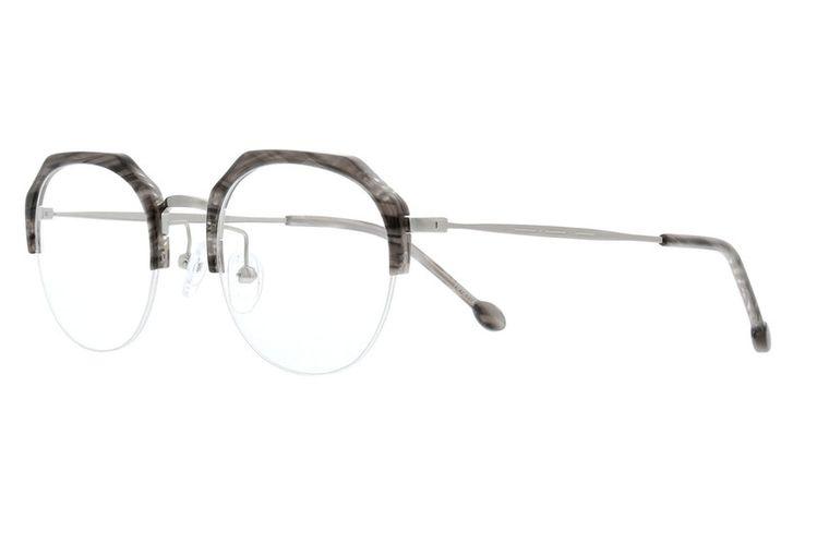 218d4a9a2c Gray Geometric Glasses  7812112