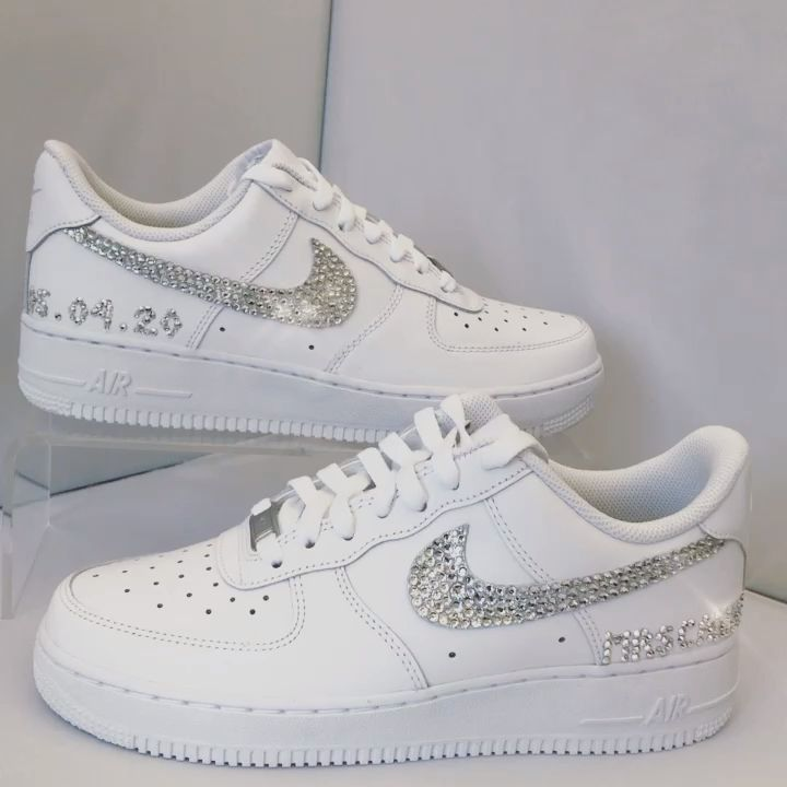 Nike Air force1s with personalisation