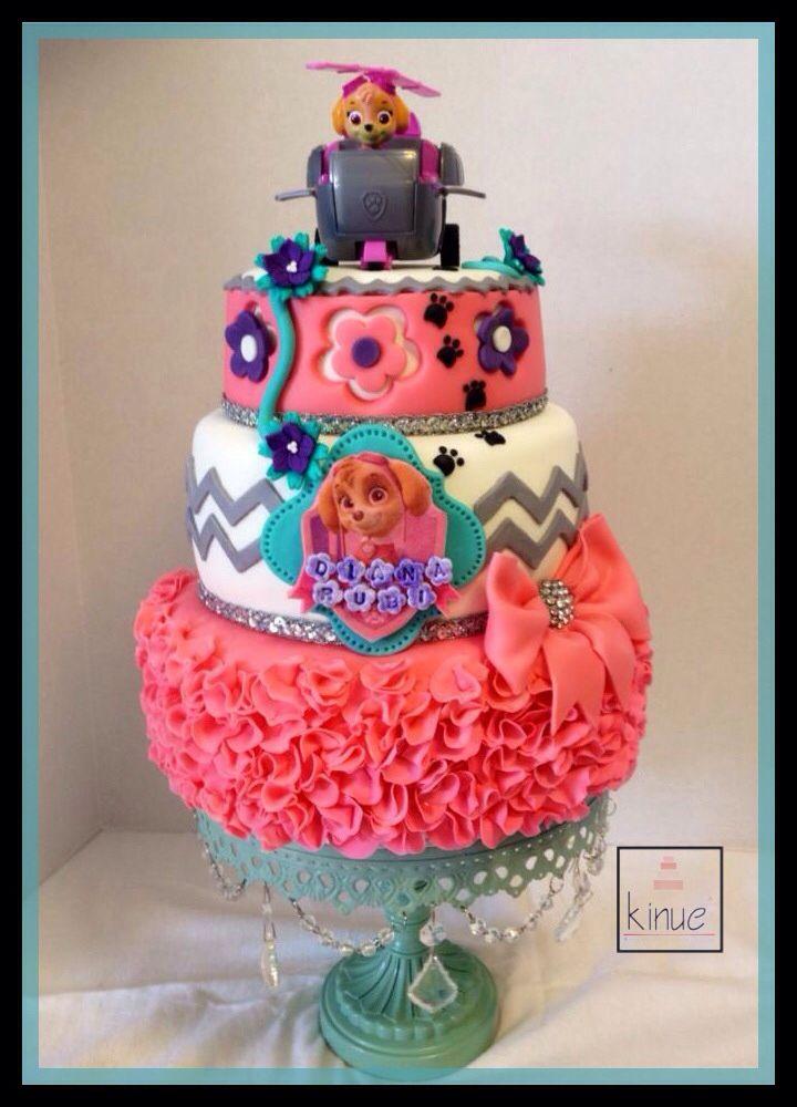 Image Result For Paw Patrol Birthday Cake Glasgow
