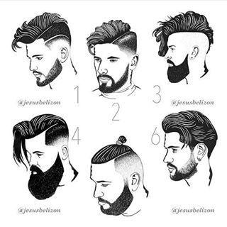 """Inspiração para penteados no Instagram: """"Qual é o seu cabelo e penteado favoritos?  #HairBrothers Confira @Beard_Brothers para inspiração de barba # BeardBrothers… """""""