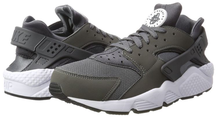 0e40a4a7278f NIKE Mens Air Huarache Grey Sneaker 41IT8US Multicolour    To view further  for this item
